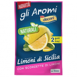 Decorì Natural Lemon Flavor.