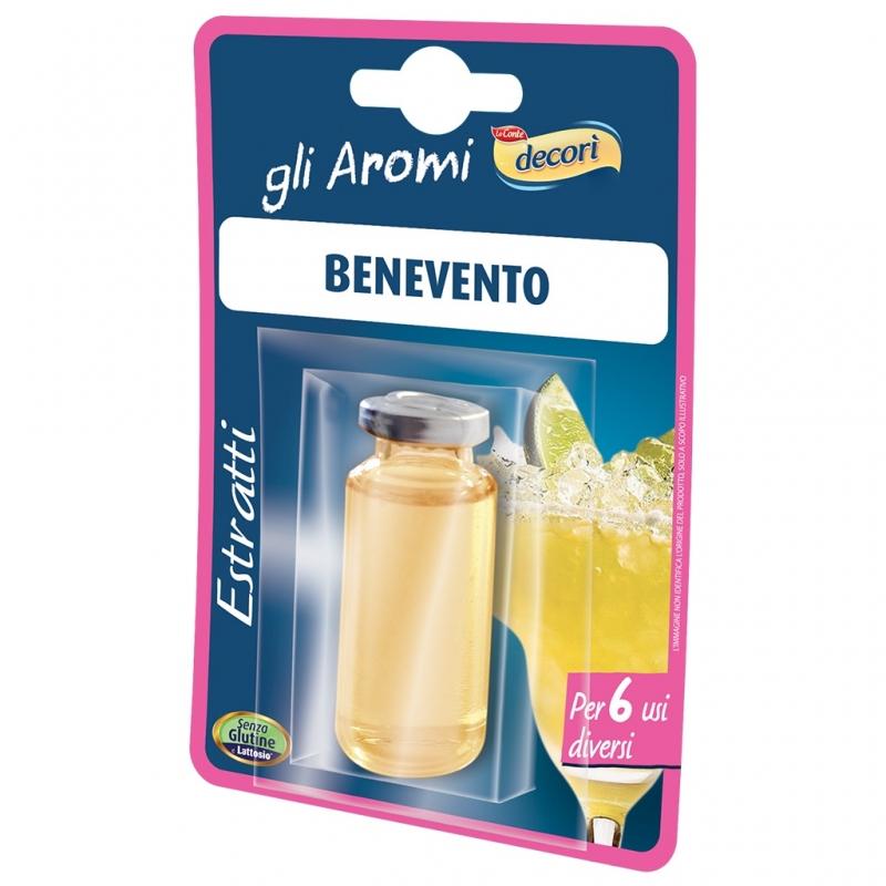 Decorì Benevento Extrait pour liqueurs.