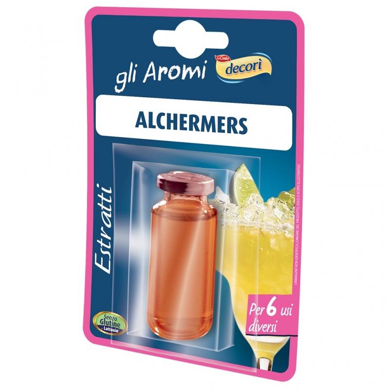 Decorì Alchermes Estratto per Liquori.