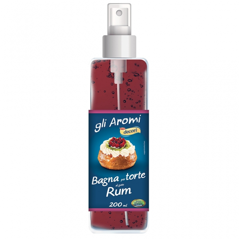 Decorì Syrup for Cakes - Rum