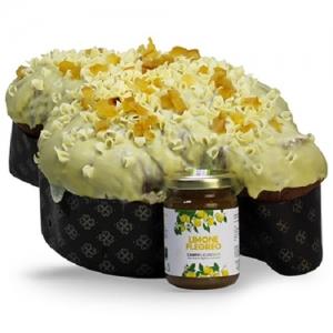 Campi Flegrei Colomba with Lemon 1Kg + Jar of Lemon Jam 100 Gr.
