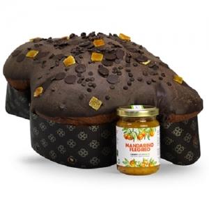 Campi Flegrei Mandarina Colomba 1Kg+tarro de mermelada de mandarina 100Gr.