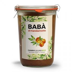 Campi Flegrei Babà with mandarin liqueur 450 Gr.
