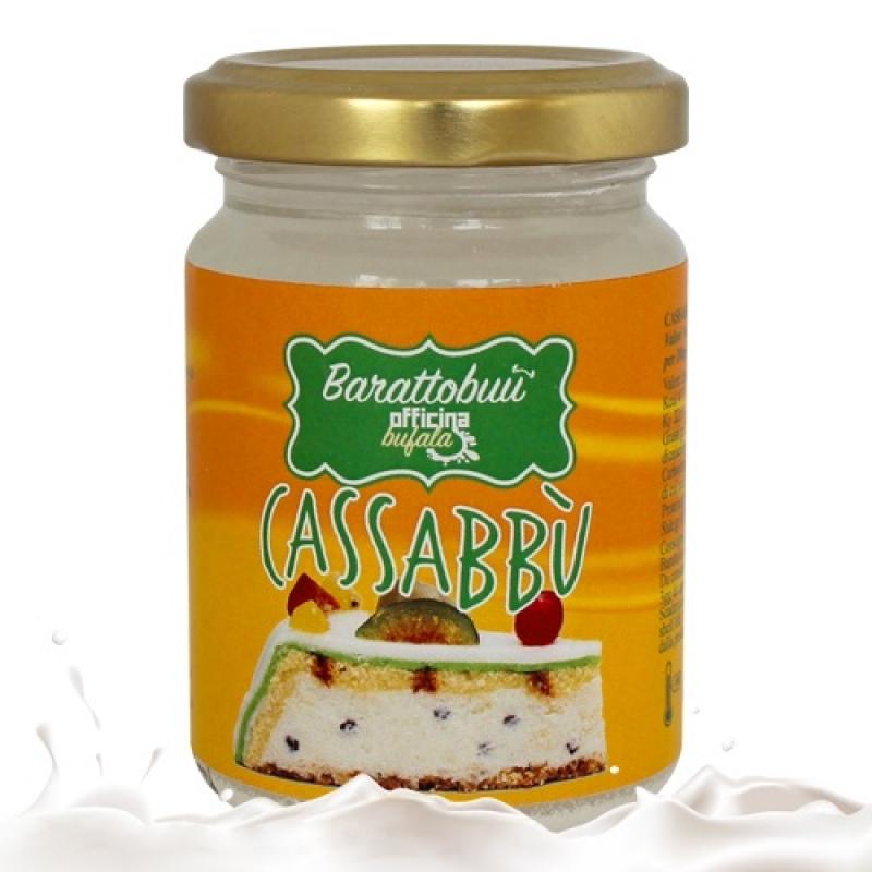 Officina Bufala Sweet Cassabbù in jar 90/100 ca. Gr.