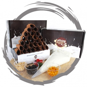 Officina Bufala Kit Cannoli Mignon 30 pz.