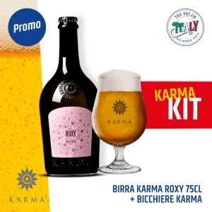 Karma Roxy Beer 75cl + Free Glass