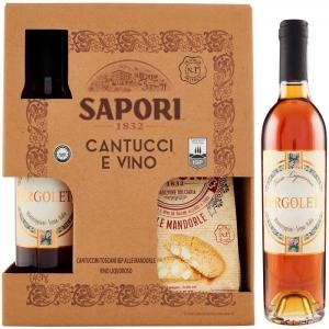 Sapori 1832 - Embalaje de Cantucci y Vin Santo