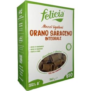 Felicia Mezzi Rigatoni Grano Saraceno Integrale Bio 340 Gr.