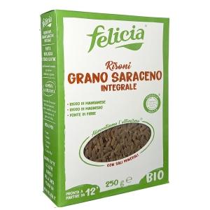 Felicia Risoni Whole Wheat Buckwheat Bio 250 Gr.