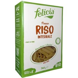 Felicia Penne rigate Riso Integrale Bio 340 Gr.
