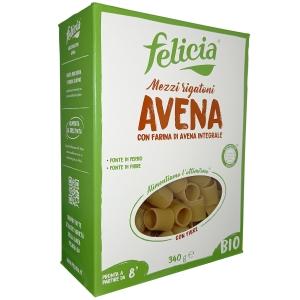 Felicia Mezzi Rigatoni whole oats Bio 340 Gr.