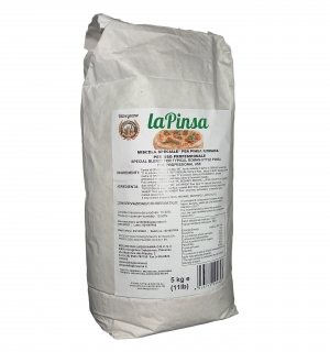Farina La Pinsa tipo 00 Kg. 5  -  Molino Dallagiovanna