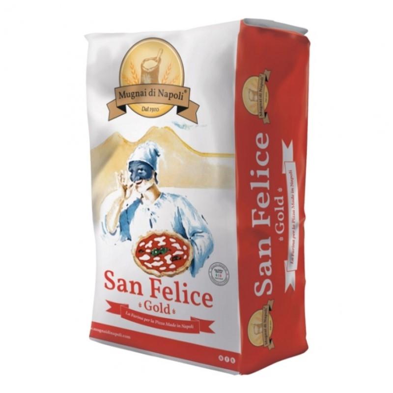 Farina San Felice '00' Pizza Gold (sacco rosso 5 KG)