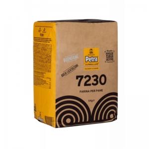 Farina PETRA 7230 per il pane Kg. 5 - Molino Quaglia.