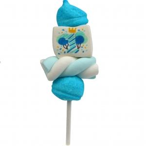 """Marshmallow Mini Spiedino """"1° compleanno celeste """" bulgari 22 Gr."""